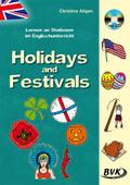 Lernen an Stationen im Englischunterricht - Holidays and Festivals, m. Audio-CD