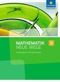 Mathematik Neue Wege SI, Ausgabe 2013 Nordrhein-Westfalen: 9. Schuljahr, Arbeitsbuch für Gymnasien