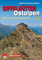 Rother Selection Gipfelhütten Ostalpen