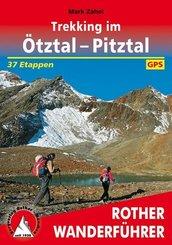 Rother Wanderführer Trekking im Ötztal - Pitztal