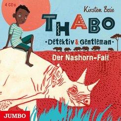 Thabo - Detektiv & Gentleman - Der Nashorn-Fall, 4 Audio-CDs