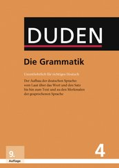 Duden - Die Grammatik