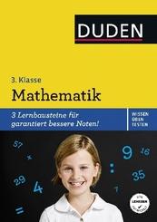 Duden Wissen - Üben - Testen: Mathematik 3. Klasse