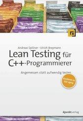 Lean Testing für C++-Programmierer