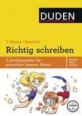 Duden Wissen - Üben - Testen: Deutsch - Richtig schreiben 2. Klasse