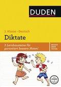 Duden Wissen - Üben - Testen: Deutsch - Diktate, 2. Klasse