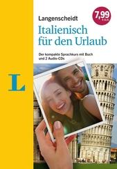 Langenscheidt Italienisch für den Urlaub, 2 Audio-CDs + Buch