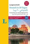 Langenscheidt Deutsch in 30 Tagen, Arabische Ausgabe mit 2 Audio-CDs