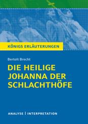 """Bertolt Brecht """"Die heilige Johanna der Schlachthöfe"""""""