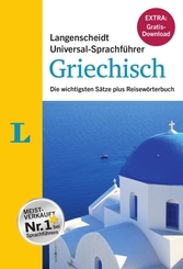 Langenscheidt Universal-Sprachführer Griechisch - Buch inklusive E-Book zum Thema 'Essen & Trinken'