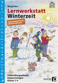 Lernwerkstatt Winterzeit - Ergänzungsband für den inklusiven Unterricht, m. CD-ROM