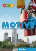 Motive - Kompaktkurs DaF, Einbändige Ausgabe: 7 Audio-CDs zum Kursbuch, Lektion 1-30