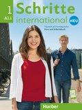 Schritte international Neu - Deutsch als Fremdsprache: Kursbuch + Arbeitsbuch + Audio-CD zum Arbeitsbuch; Bd.1