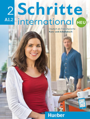 Schritte international Neu 2, m.  Audio-CD