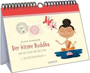 Der kleine Buddha und die Sache mit der Liebe, Postkartenbuch