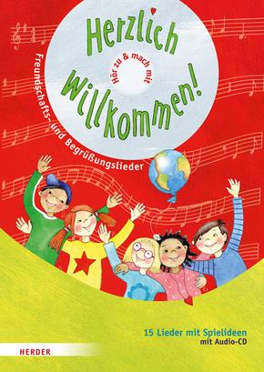 Herzlich willkommen!, m. Audio-CD