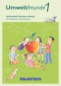 Umweltfreunde, Ausgabe Sachsen-Anhalt (2016): 1. Schuljahr, Arbeitsheft