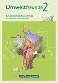 Umweltfreunde, Ausgabe Sachsen-Anhalt (2016): 2. Schuljahr, Arbeitsheft