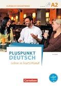 Pluspunkt Deutsch - Leben in Deutschland: Kursbuch mit Video-DVD (Gesamtband); Bd.A2