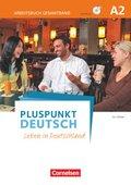 Pluspunkt Deutsch - Leben in Deutschland: Arbeitsbuch (Gesamtband) mit Audio-CD; Bd.A2