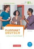 Pluspunkt Deutsch - Leben in Deutschland: Kursbuch mit Video-DVD; Bd.B1/1 - Tl.1