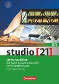 studio [21] - Das Deutschbuch: Intensivtraining mit Audio-CD und Extraseiten für Integrationskurse, Gesamtband; Bd.B1