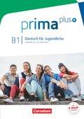 Prima plus - Deutsch für Jugendliche: Schülerbuch, Gesamtband; Bd.B1