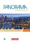 Panorama - Deutsch als Fremdsprache: Leben in Deutschland, Übungsbuch, m. Audio-CD; Bd.A2.2 - Tl.2