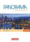 Panorama - Deutsch als Fremdsprache: Übungsbuch, m. Audio-CD; Bd.A2.2 - Tl.2