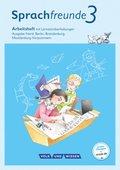 Sprachfreunde - Sprechen - Schreiben - Spielen - Ausgabe Nord (Berlin, Brandenburg, Mecklenburg-Vorpommern) - Neubearbei