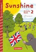 Sunshine - Early Start Edition (Neubearbeitung): 2. Schuljahr - Activity Book mit Audio-CD