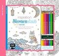 Inspiration Sternenstaub: 50 zauberhaft verträumte Motive kolorieren, mit 8 Faber-Castell-Buntstiften