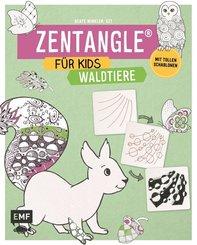 Zentangle für Kids - Waldtiere