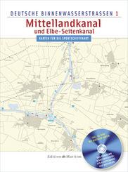 Deutsche Binnenwasserstraßen Mittellandkanal und Elbe-Seitenkanal
