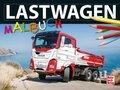 Lastwagen-Malbuch