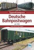 Deutsche Bahnpostwagen seit 1945