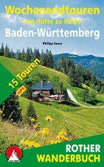 Rother Wanderbuch Wochenendtouren von Hütte zu Hütte Baden-Württemberg