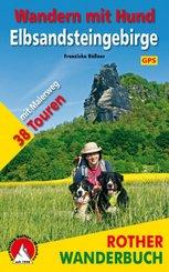 Rother Wanderbuch Wandern mit Hund - Elbsandsteingebirge