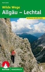 Rother Wanderbuch Wilde Wege Allgäu - Lechtal
