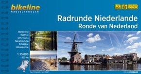 Bikeline Radtourenbuch Radrunde Niederlande / Ronde van Nederland