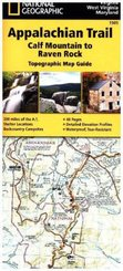 National Geographic Adventure Travel Map Calf Mountain to Raven Rock