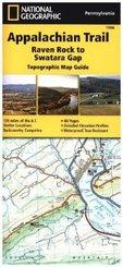 National Geographic Adventure Travel Map Raven Rock to Swatara Gap