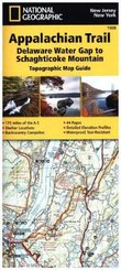 National Geographic Adventure Travel Map Delaware Water Gap to Schaghticoke Mountain