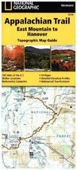 National Geographic Adventure Travel Map East Mountain to Hanover
