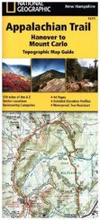 National Geographic Adventure Travel Map Hanover to Mount Carlo