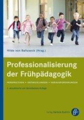 Professionalisierung der Frühpädagogik
