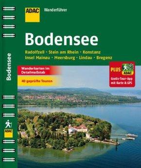 ADAC Wanderführer Bodensee inklusive Gratis Tour App