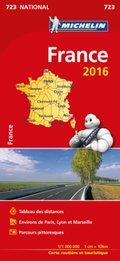 Michelin Karte Frankreich 2016
