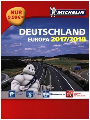 Michelin Straßenatlas Deutschland & Europa 2017/2018