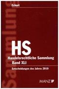 Handelsrechtliche Entscheidungen (HS) (f. Österreich) - Bd.41